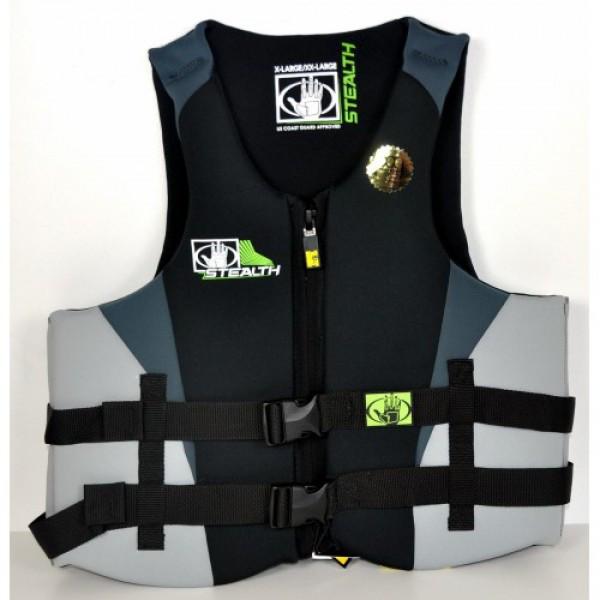 Купить Жилет BodyGlove неопреновый XS/S Stealth черно-серый