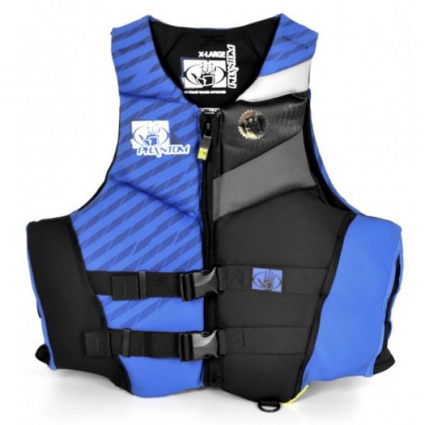 Купить Жилет BodyGlove неопреновый L Phantom сине-голубой