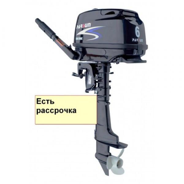 Купить Мотор для лодок Parsun F6A BMS (6 л.с., короткий дейдвуд, винт 9``цифровое зажигание)