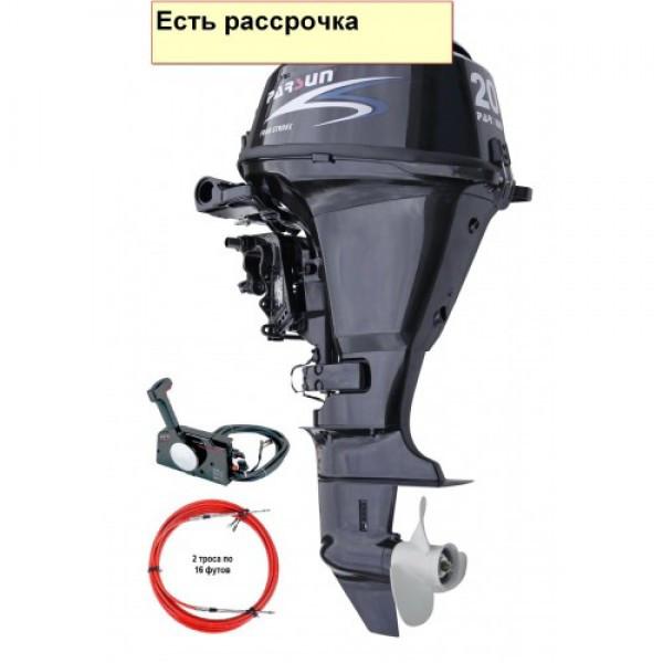 Купить Мотор для лодок и катеров Parsun F20A FWS (20 л.с. короткий дейдвуд, стартер, цифровое зажигание)