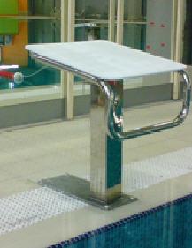 Тумба стартовая для бассейнов. Оборудование для бассейнов