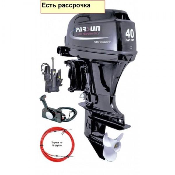 Купить Моторы Parsun TP30 BMS T40FWS-T (40 л.с. короткий дейдвуд, стартер, д/у, эндуро, трим)