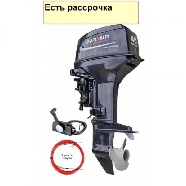 Купить Моторы Parsun T40J FWS (40 л.с. короткий дейдвуд, стартер, д/у, цифровое зажигание)