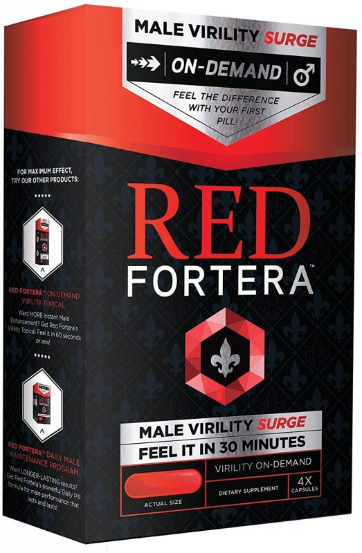Red Fortera (Рэд Фортера) - капсулы для потенции