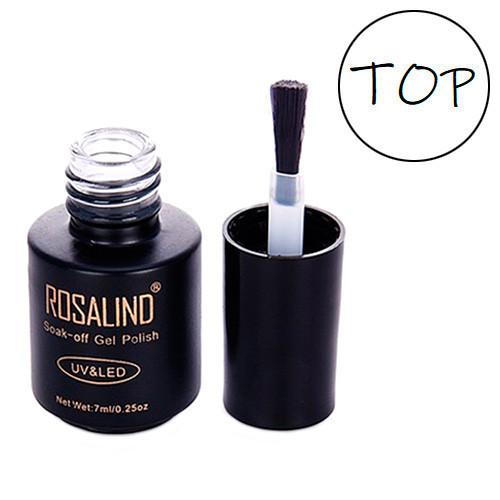 Купить Финишное топовое покрытие финиш топ для гель-лака шеллака Rosalind 7мл