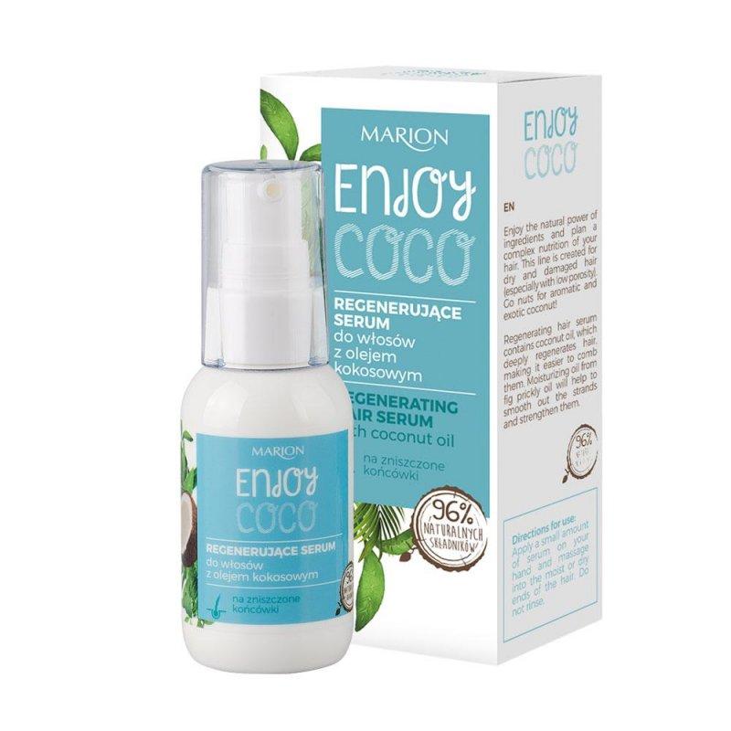 Восстанавливающая сыворотка для волос Marion Enjoy Coco с Кокосовым маслом, 50 мл