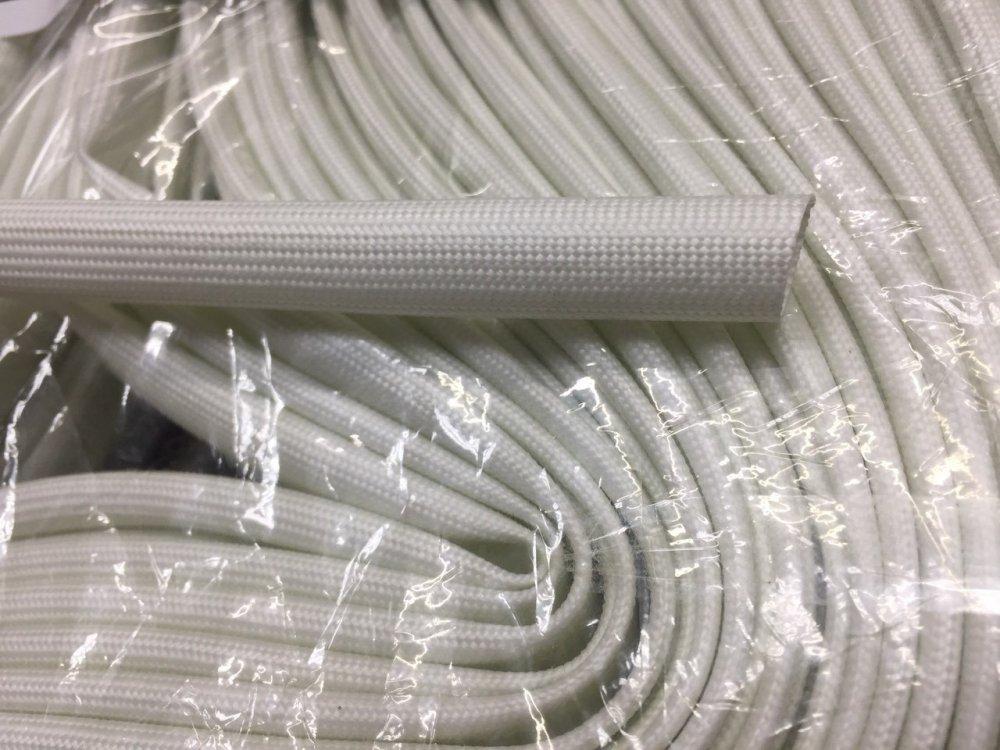 Купить Трубка стеклоармированная с силиконовым покрытием 6 мм, 100 м