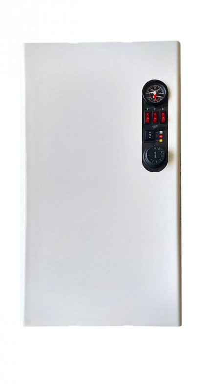 Двухконтурный электрический котел 7,5 кВт 220/380В (НА СИМИСТОРАХ) WARMLY