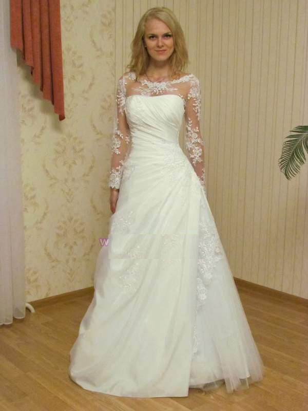 17d3725855f66c Весільна сукня з довгим рукавом оптом та в роздріб купити в Чернівці