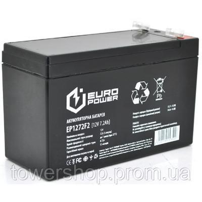 Купить Батарея к ИБП Europower 12В 7.2 Ач (EP12-7.2F2)
