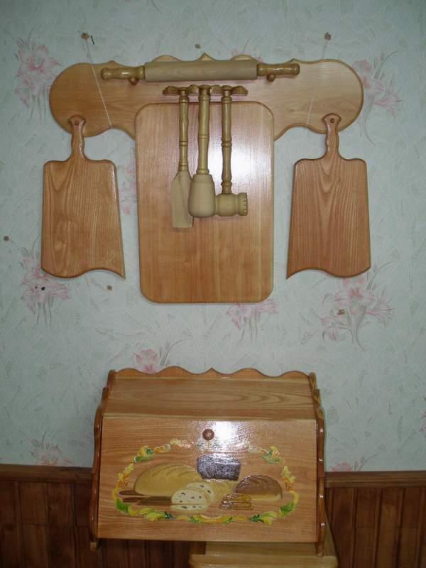 Купить Кухонные принадлежности деревянные