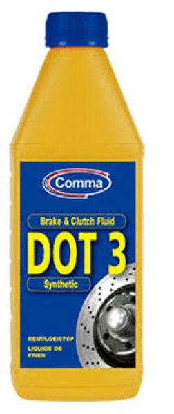 Купить Тормозная и гидравлическая жидкость Brake & Clutch Fluid DOT 3
