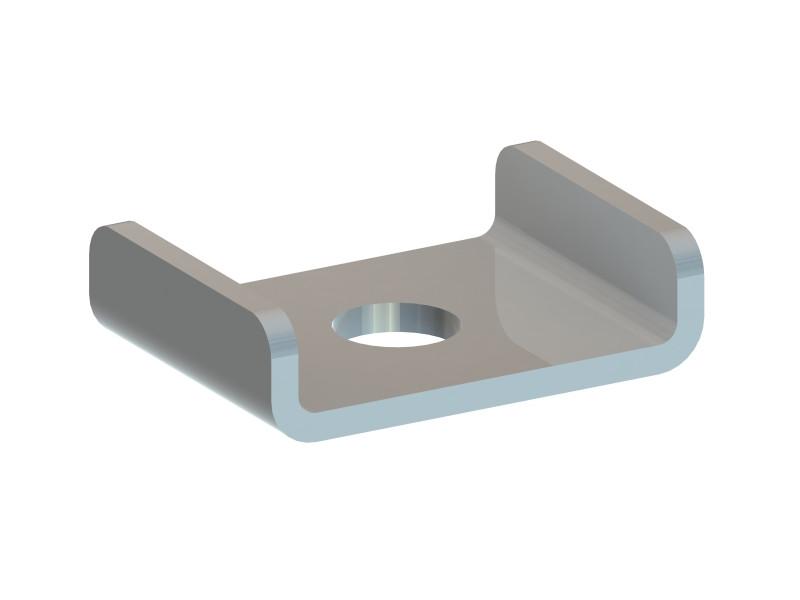 Купить Пластина крепежная тип PDC-MF (42*35*3/D12,5мм)