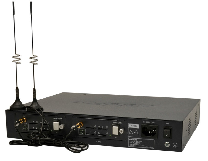 Купить VoIP-GSM шлюз AddPac AP-GS1500