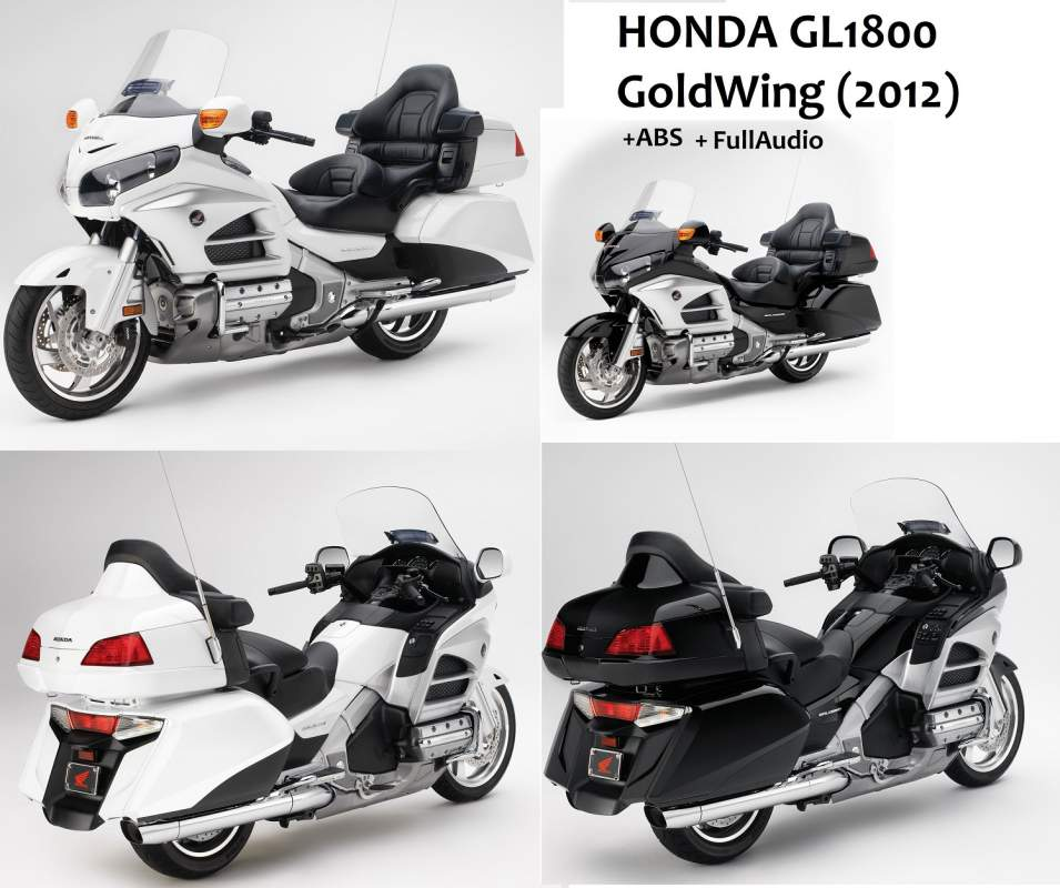 Мотоцикл HONDA GL1800 GoldWing (2012)