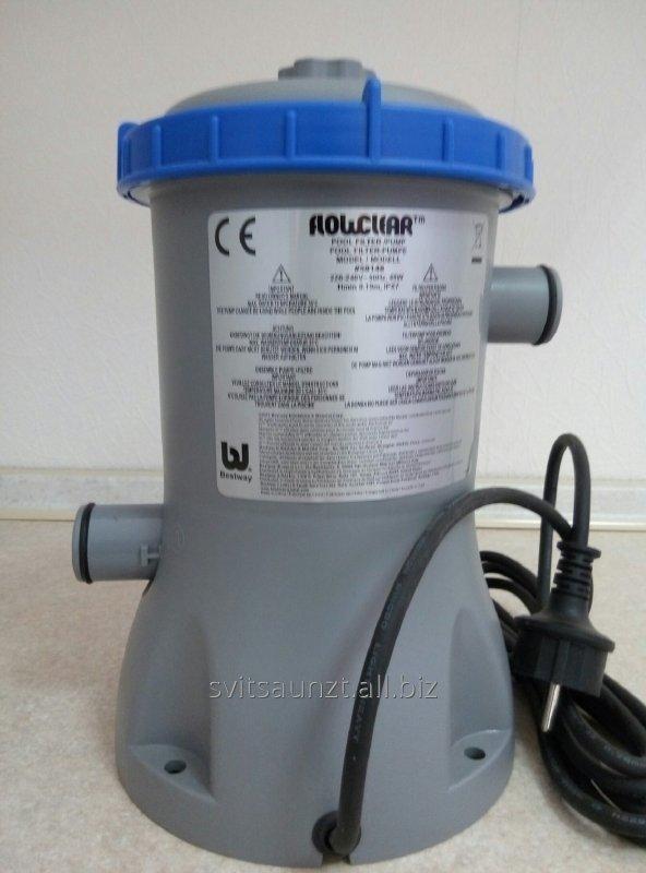 Картриджный фильтрующий насос для бассейнов объемом до 15 м3