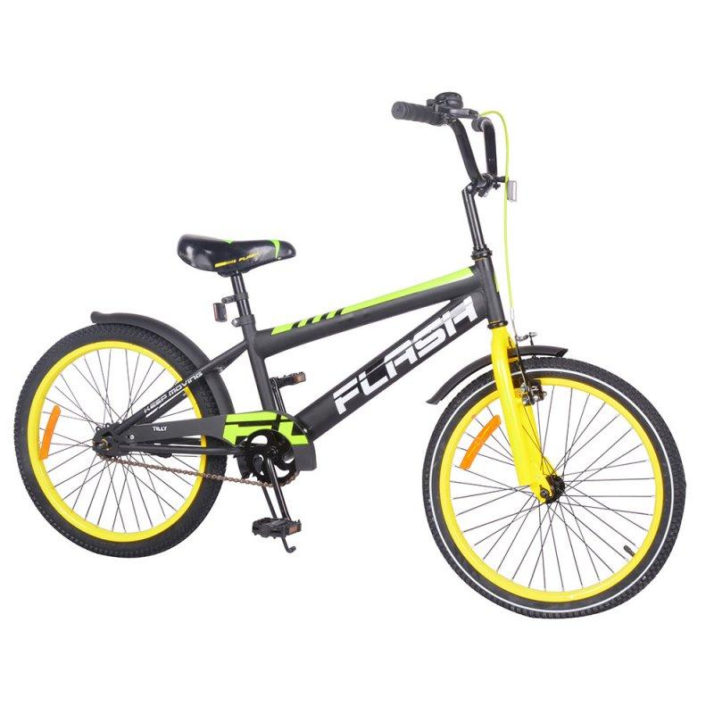 "Купить Велосипед FLASH 20"" T-22047 yellow /1/"