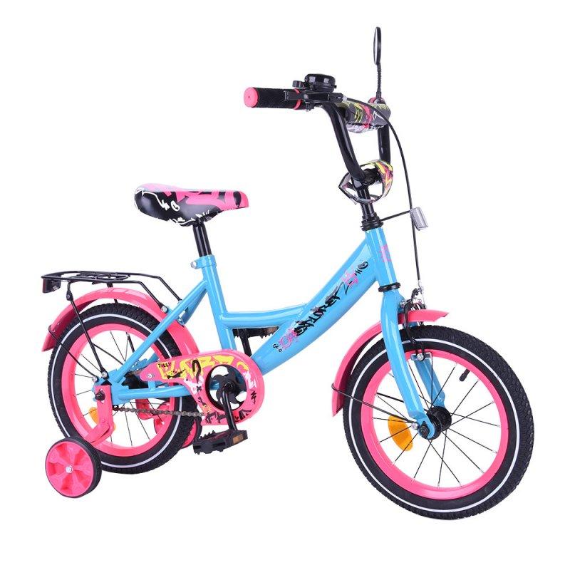 """Купить Велосипед EXPLORER 14"""" T-214111 blue_pink /1/"""