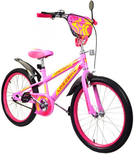Купить Велосипед детский двухколесный 20 дюймов Like2bike Sprint 192031