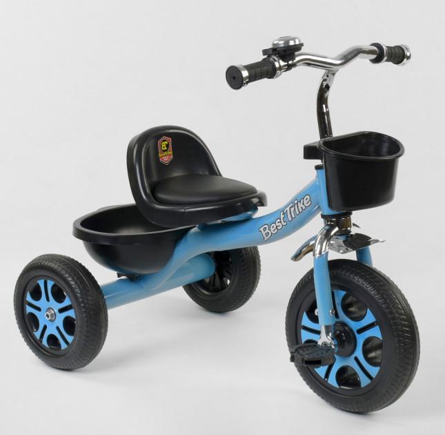 Купить Велосипед 3-х колёсный LM-4405 Best Trike Голубой