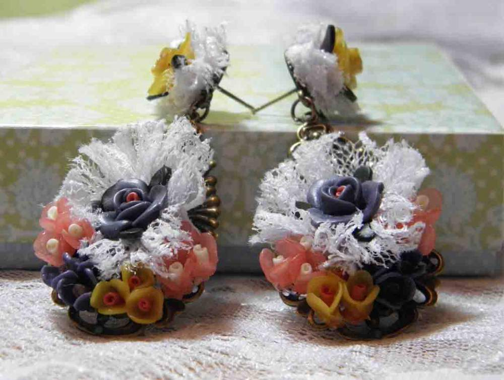 Buy The costume jewelry of handwork, earring to buy, order, wholesale, Ukraine