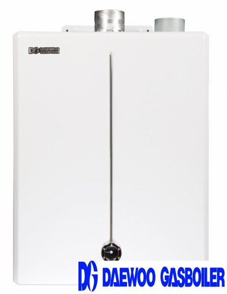 Двухконтурный газовый котел DAEWOO DGB-400-MSC.Макс. мощность в режиме отопления, 46,5 кВт