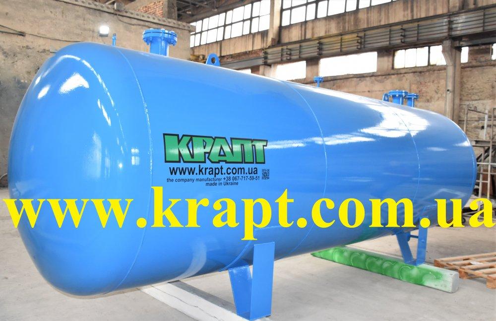 Купить Горизонтальный воздухосборник (Ресивер) V- 10 м.куб производство