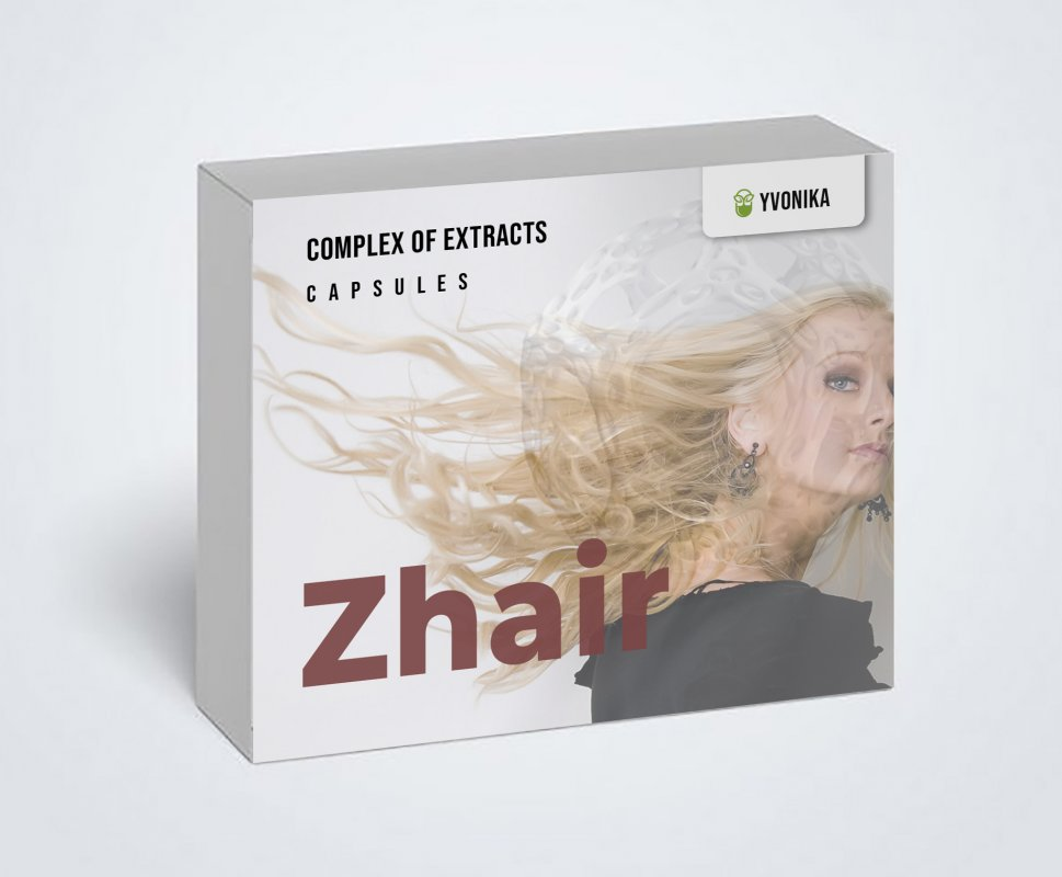 Купити Zhair (Заїр) - капсули для росту волосся