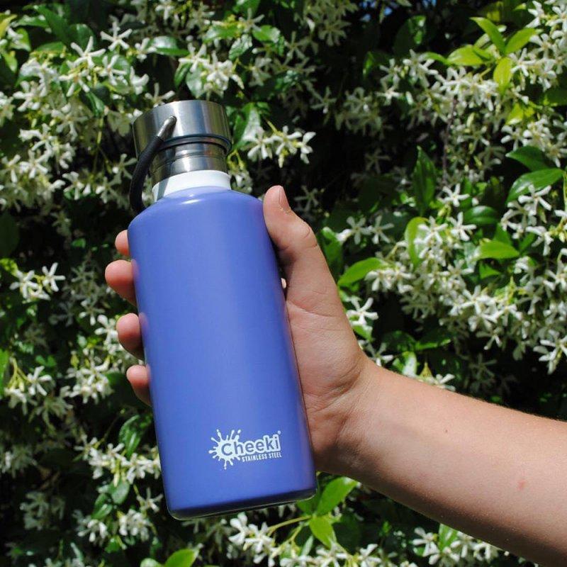 Купить Бутылка для воды Cheeki Classic Single Wall 500 ml Lavender подарки на день рождения