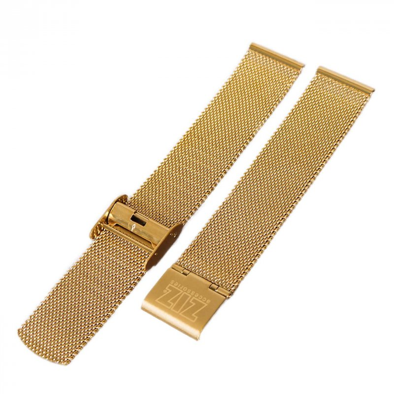 Купить Ремешок для часов ZIZ из нержавеющей стали (золото) оригинальный подарок на день рождения