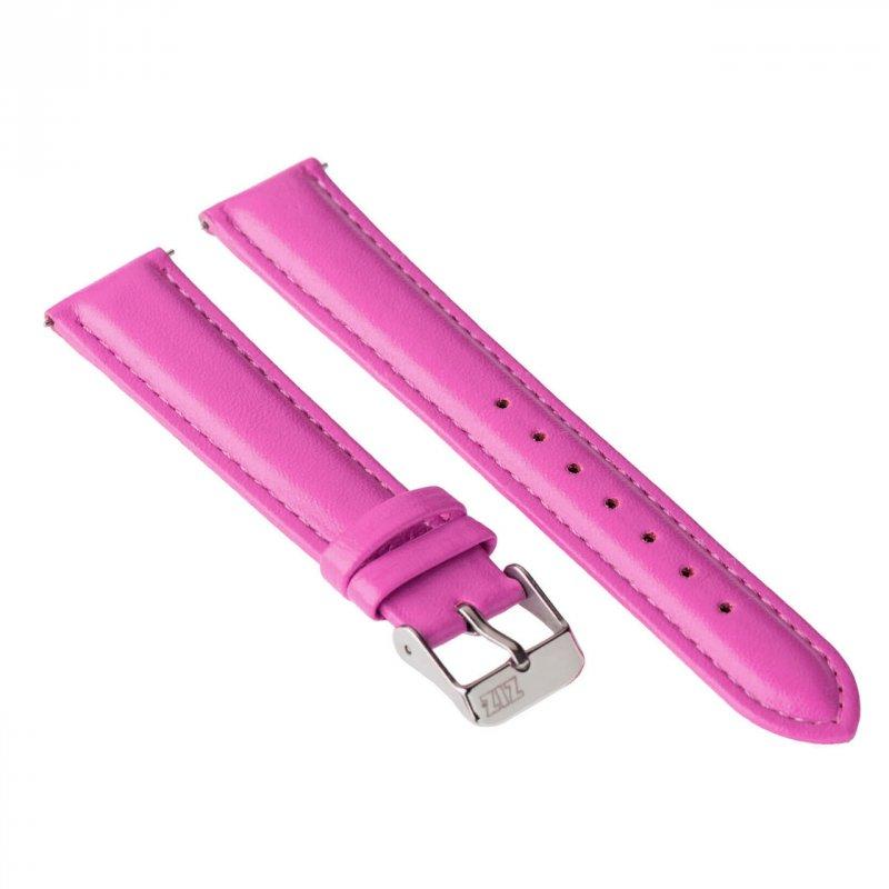 Купить Ремешок для часов ZIZ (малиново - пурпурный, серебро) оригинальный подарок на день рождения