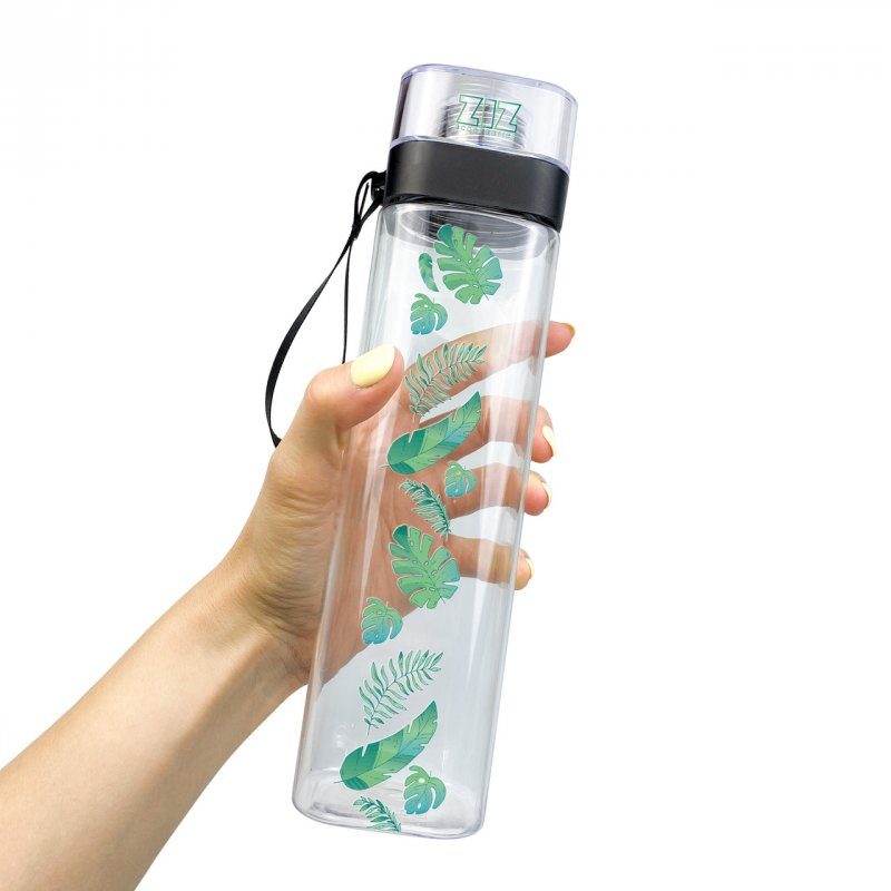 Купить Бутылка для воды ZIZ Пальмовые листья подарки на день рождения
