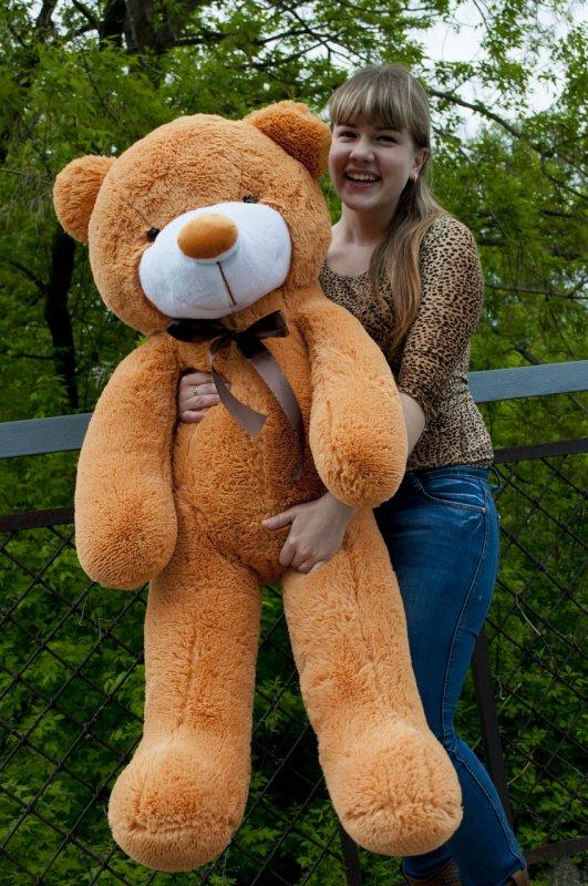 Купить Плюшевый мишка Рафаэль 120 см подарки на день рождения
