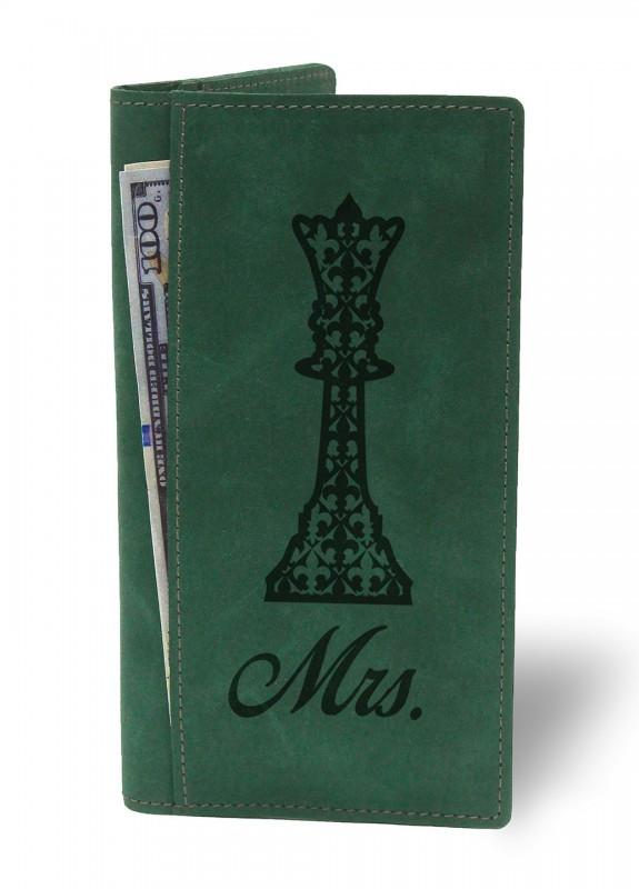 Купить Портмоне Миссис зеленый подарки на день рождения