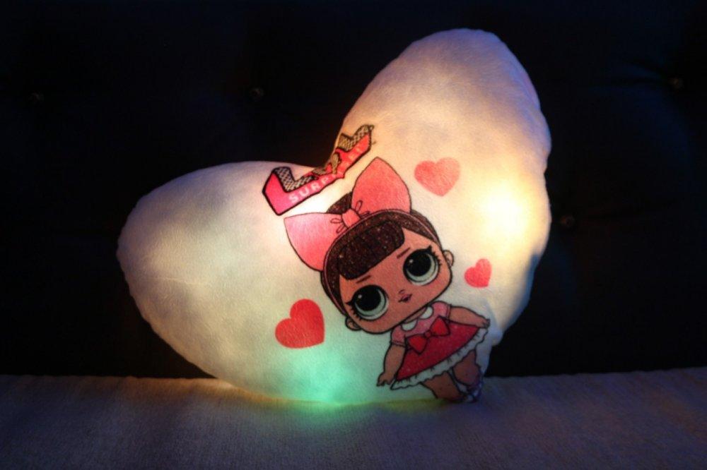 Купить Светящаяся подушка Lol оригинальный подарок на день рождения