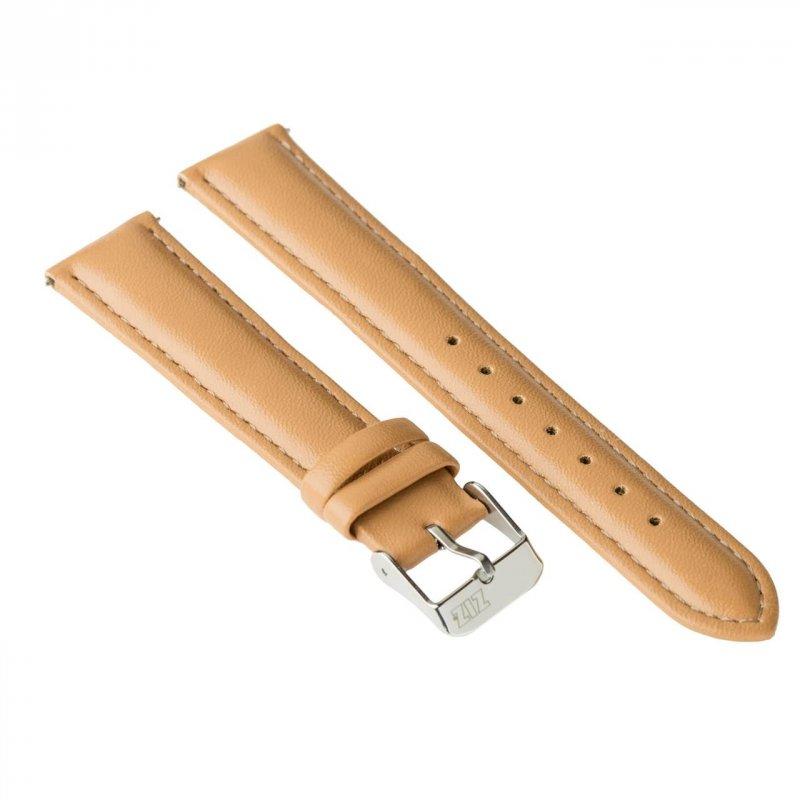 Купить Ремешок для часов ZIZ (карамельно - коричневый, серебро) оригинальный подарок на день рождения