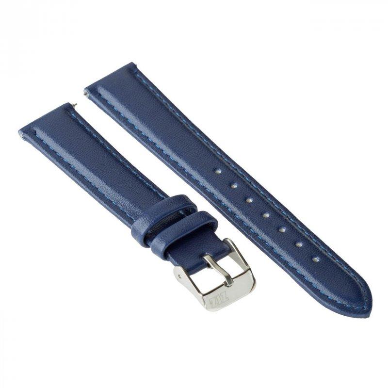 Купить Ремешок для часов ZIZ (ночная синь, серебро) оригинальный подарок на день рождения