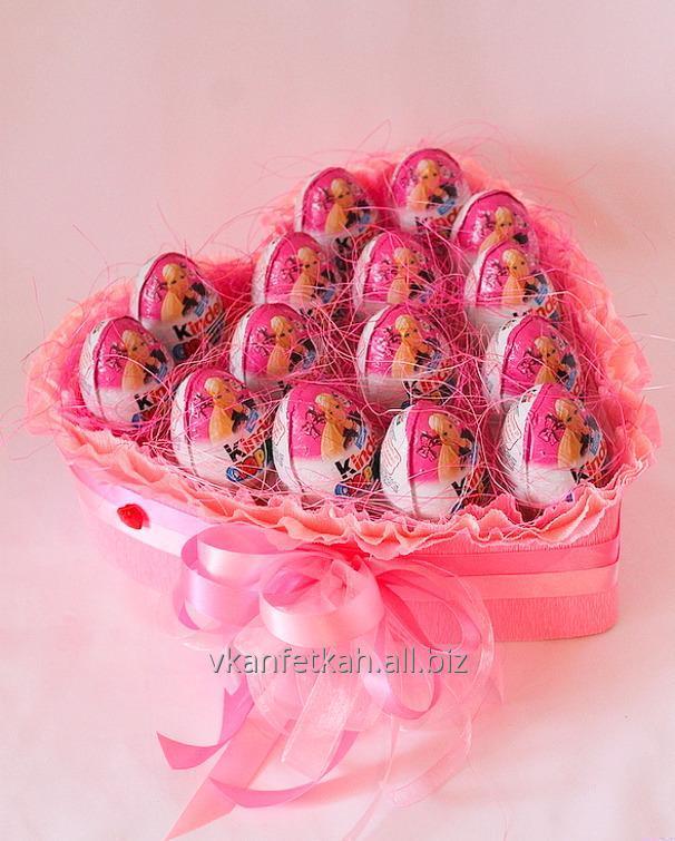 a2fc1be86823 Букет из конфет Киндер купить в Харькове