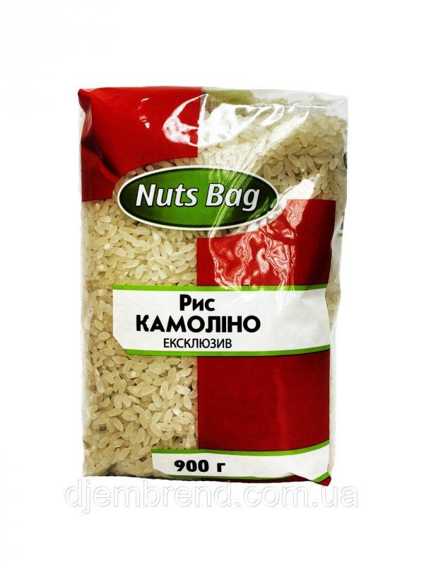 Купить Рис Камолино Эксклюзив Nut Bags 900 гр.