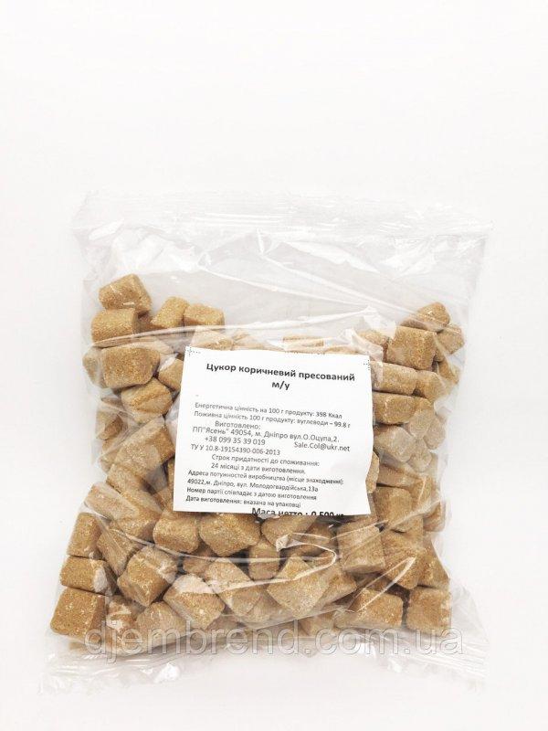 Купить Сахар коричневый пресованый, 0,5 кг