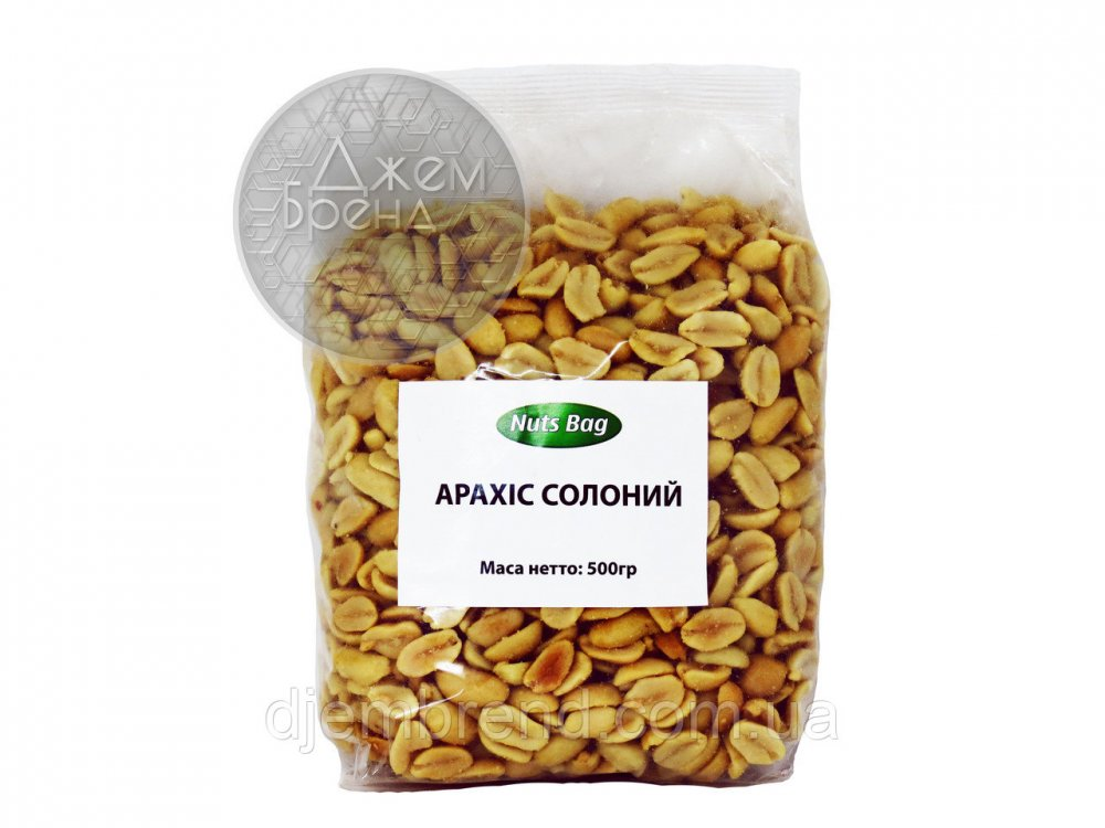 Купить Арахис соленый Nuts Bag, 500 гр.