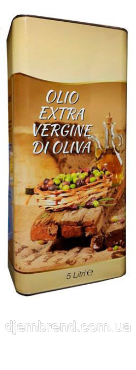 Купить Масло оливковое Olio Extra Verdgine di oliva, 5л