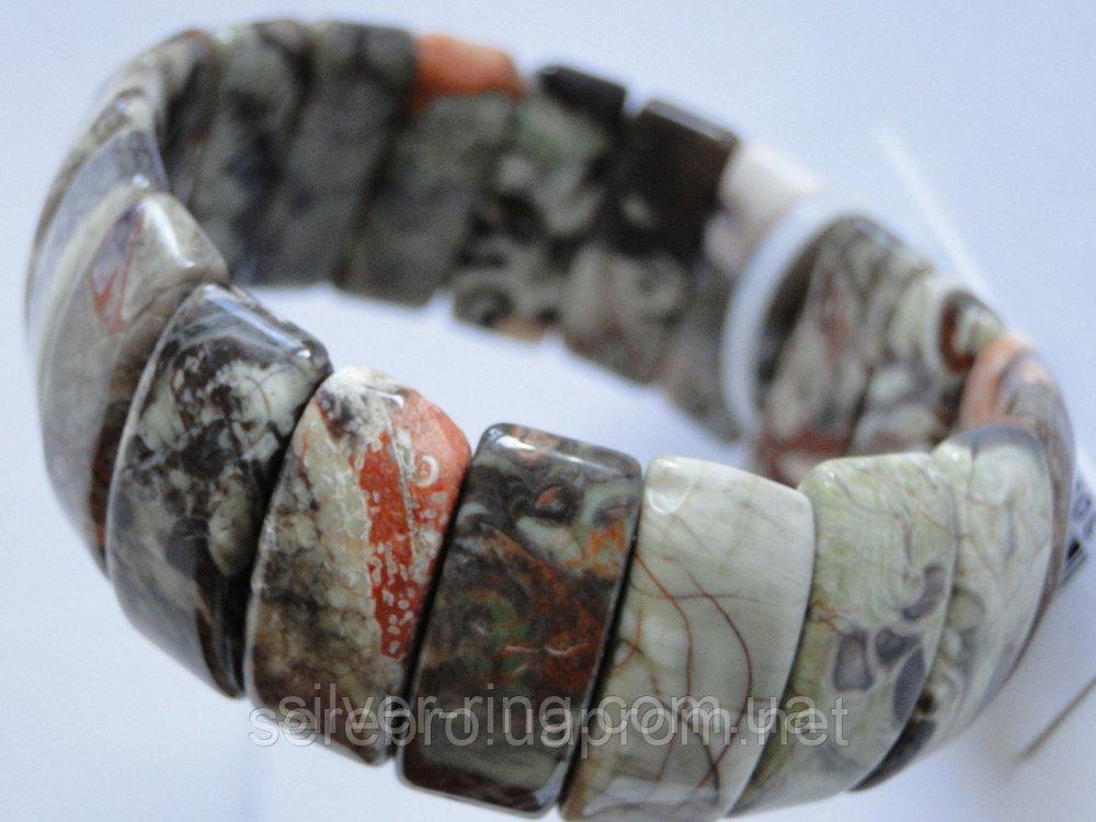 Купить Не обыкновенная яшма - браслет