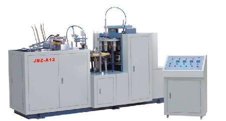 Машины для производства готовых бумажных стаканчиков JBZ-А продажа поставка монтаж