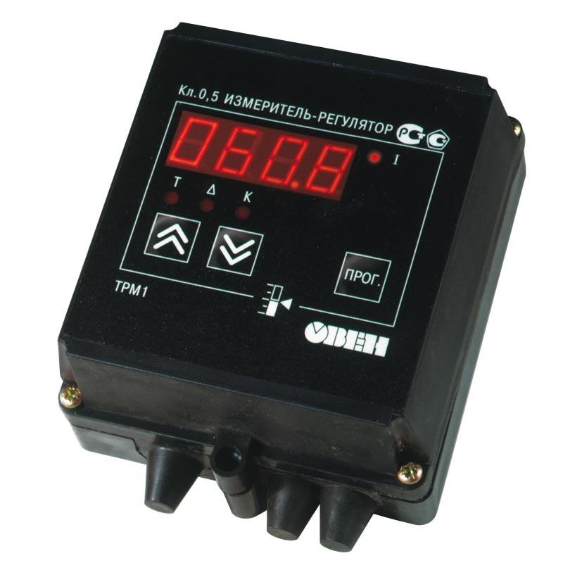 Buy Measuring instrument regulator single-channel OBEH TPM1. Temperature regulator
