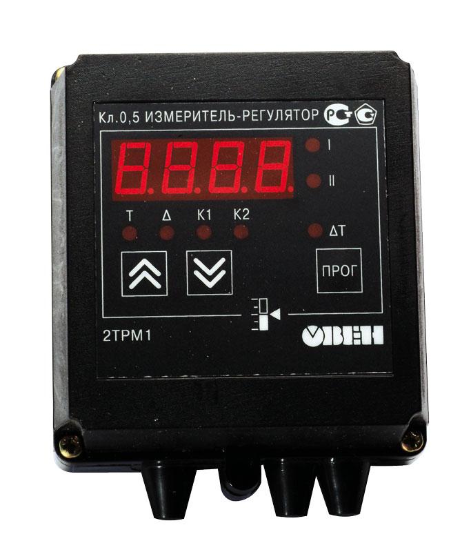 Купить Измеритель-регулятор двухканальный ОВЕН 2ТРМ1