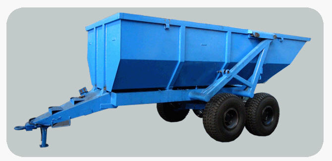 Buy Semi-trailer tractor dumping NTS-12