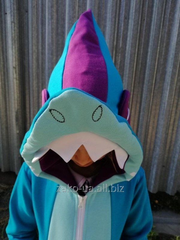 Детская толстовка shark (акула)