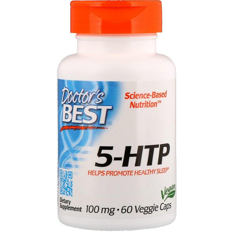 Купить 5-HTP (Гидрокситриптофан) 100мг, Doctor's Best, 60 капсул