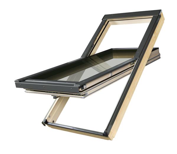 Купить Мансардное окно FAKRO FTT U6 Thermo суперэнергосберегающее